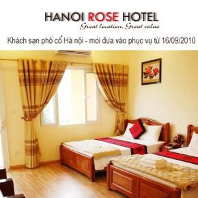 Hostéis e Albergues - Hanoi Rose Hotel