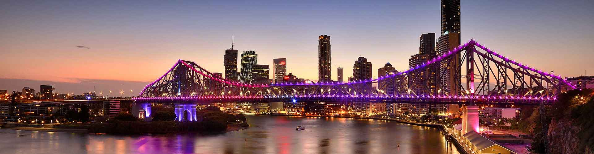 Brisbane – Albergues no bairro de Inner Brisbane . Mapas para Brisbane, Fotos e Avaliações para cada Albergue em Brisbane.