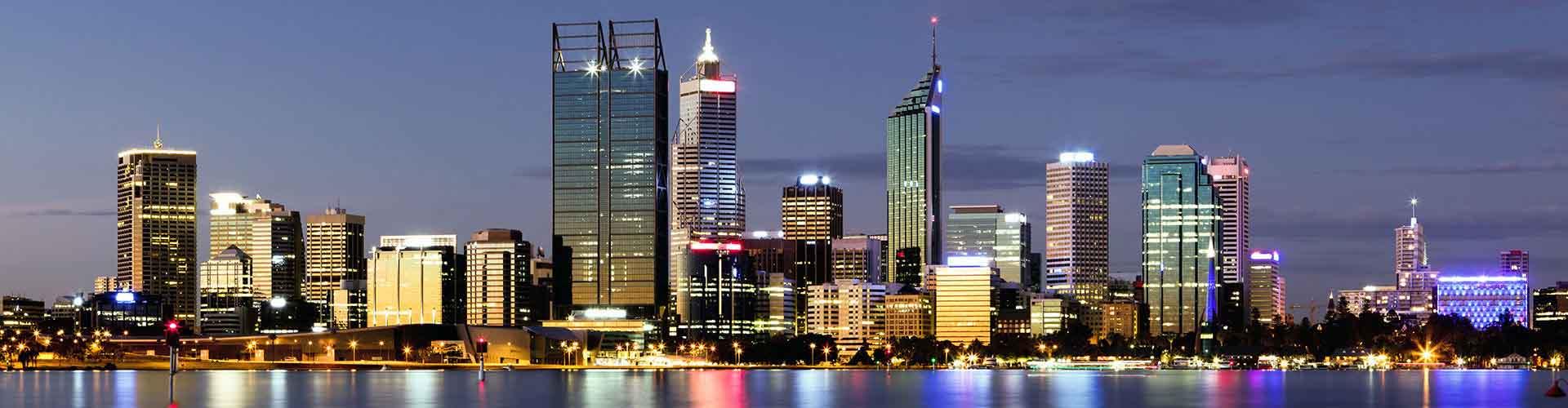Perth - Quartos no Perth Central Distrito de Negócios bairro. Mapas para Perth, Fotos e Avaliações para cada quarto em Perth.