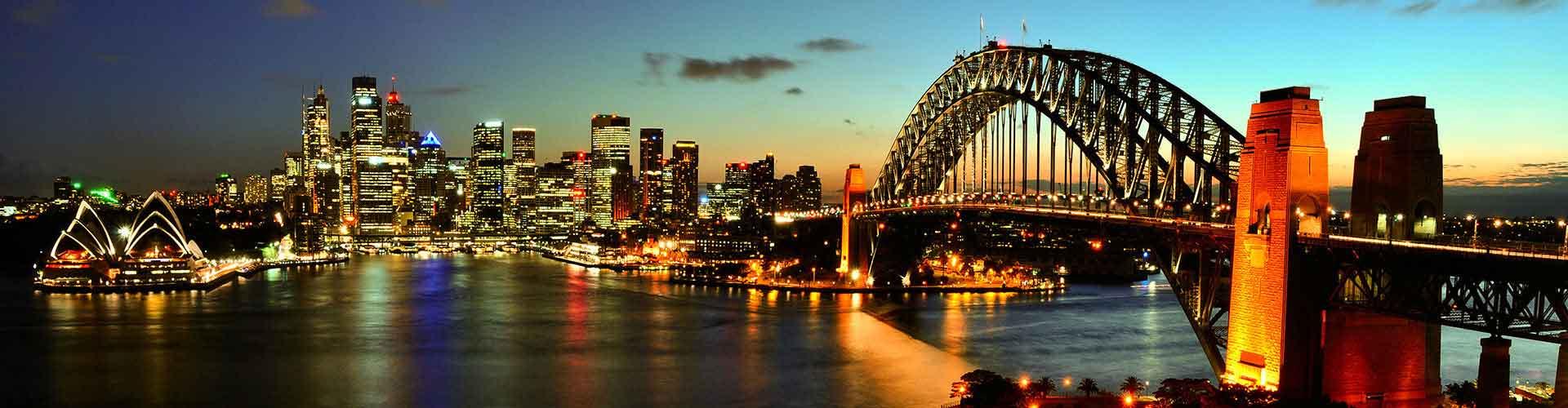 Sydney - Hotéis no Leste Sydney bairro. Mapas para Sydney, Fotos e Avaliações para cada Albergue em Sydney.