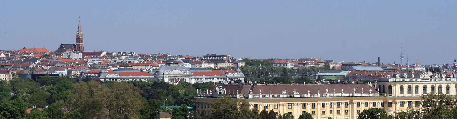 Viena – Hostels no bairro de Rudolfsheim-Fuenfhaus . Mapas para Viena, Fotos e Avaliações para cada Hostel em Viena.