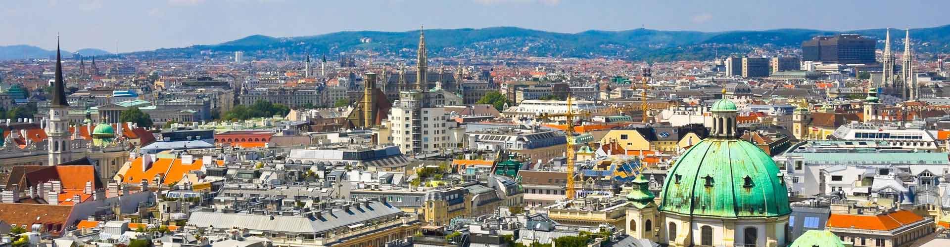 Viena - Hotéis no Rossau bairro. Mapas para Viena, Fotos e Avaliações para cada Albergue em Viena.