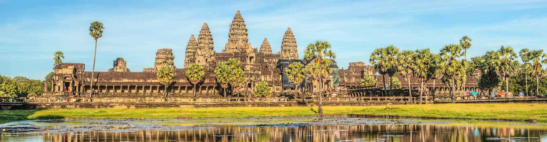 Siem Reap – Hotéis em Siem Reap. Mapas para Siem Reap, Fotos e Avaliações para cada Hotel Siem Reap.