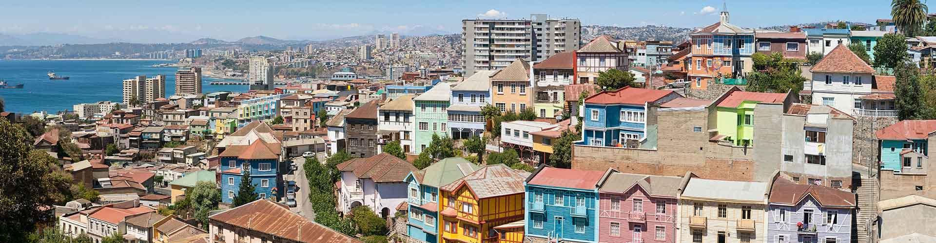Valparaiso – Hostels em Valparaiso. Mapas para Valparaiso, Fotos e Avaliações para cada Hostels em Valparaiso.