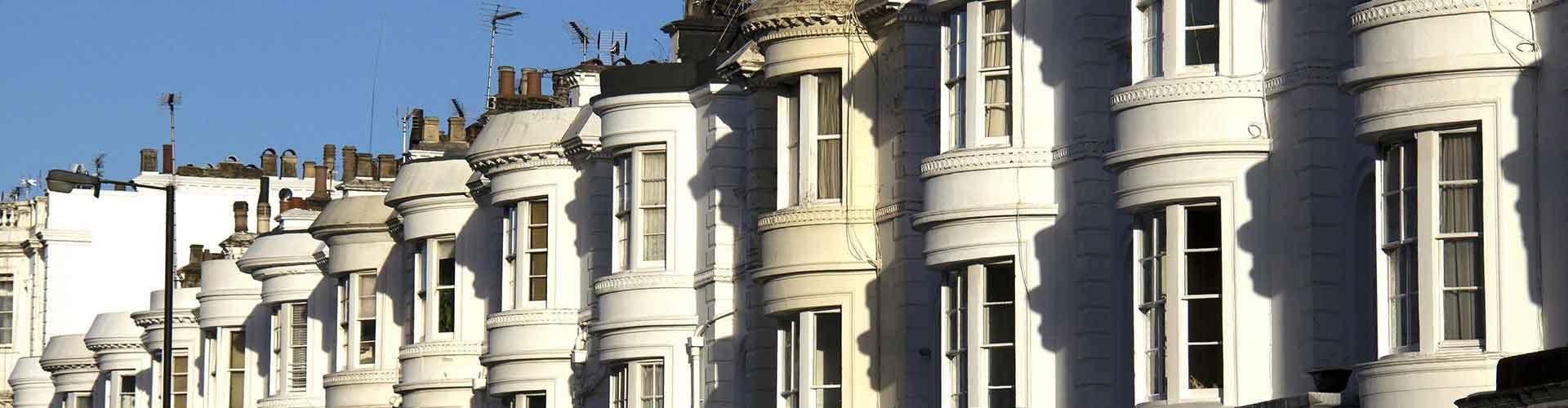 Londres – Hostels no bairro de Bayswater . Mapas para Londres, Fotos e Avaliações para cada Hostel em Londres.