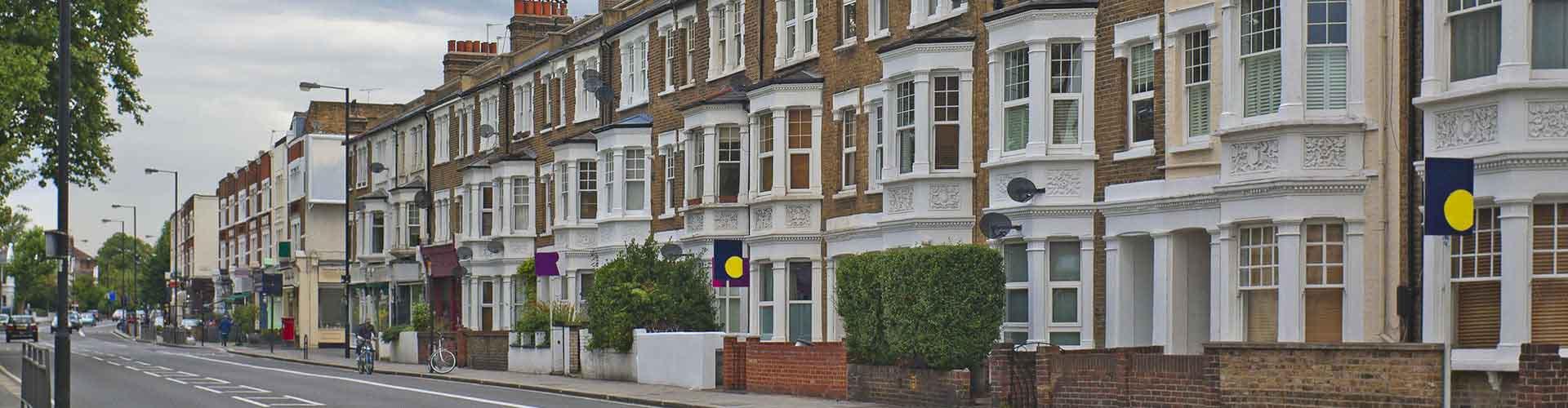 Londres – Hostels no bairro de Fulham . Mapas para Londres, Fotos e Avaliações para cada Hostel em Londres.