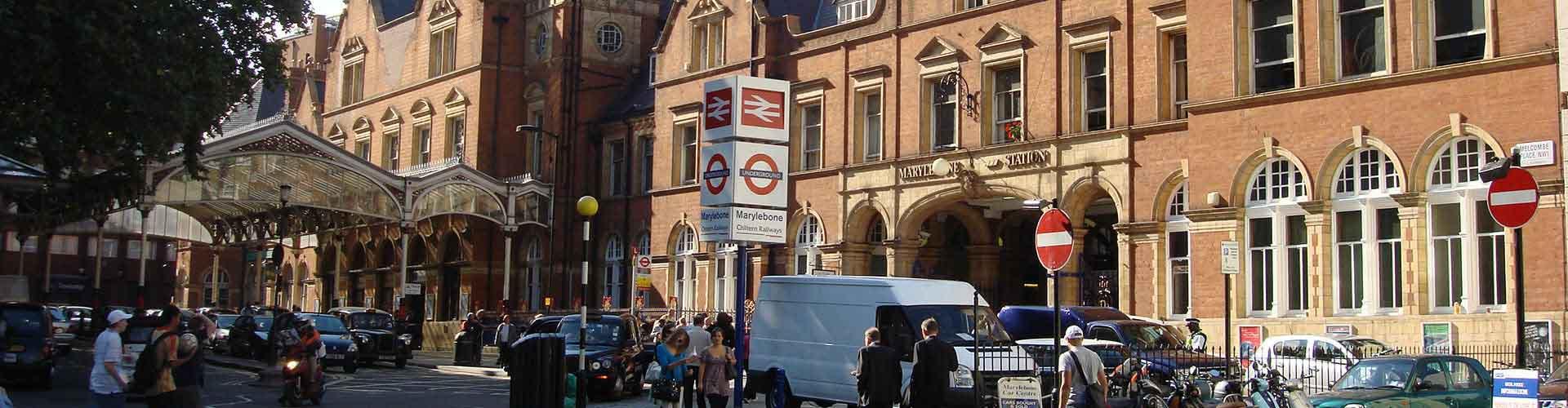 Londres – Hostels no bairro de Marylebone . Mapas para Londres, Fotos e Avaliações para cada Hostel em Londres.