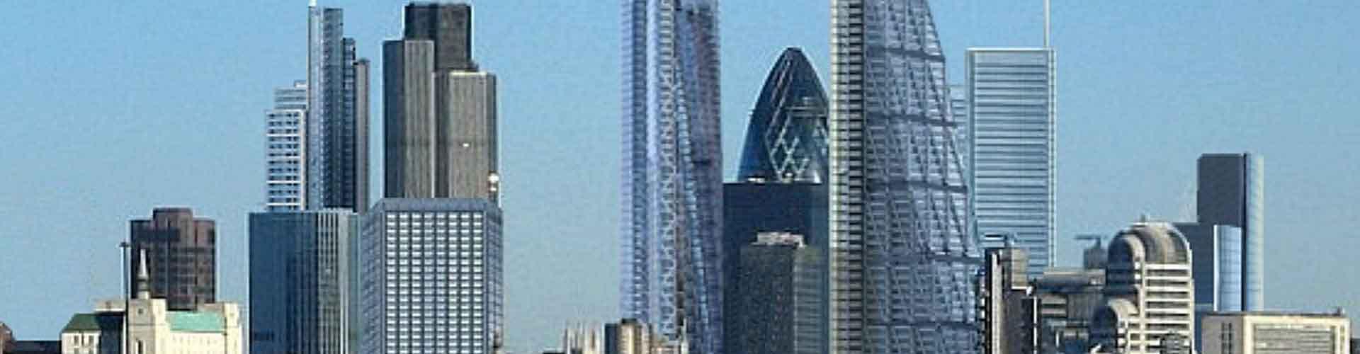 Londres – Hostels próximos a Bishopsgate Torre. Mapas para Londres, Fotos e Avaliações para cada Hostel em Londres.