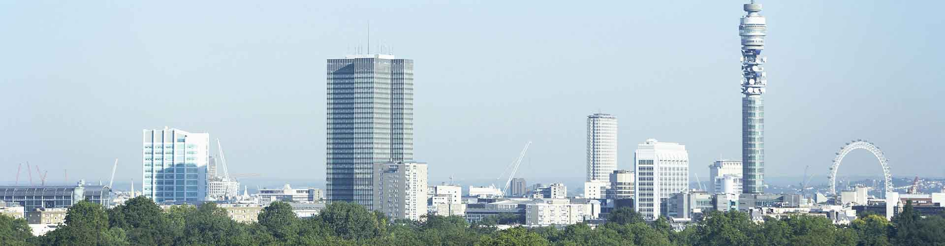 Londres – Hostels próximos a Fitzrovia Telecom Tower. Mapas para Londres, Fotos e Avaliações para cada Hostel em Londres.