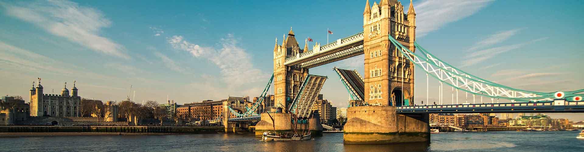 Londres – Hostels próximos a Tower Bridge. Mapas para Londres, Fotos e Avaliações para cada Hostel em Londres.