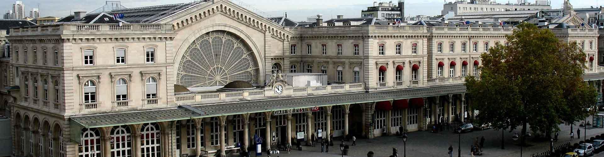 Paris – Hostels no bairro de Gare de l'Est . Mapas para Paris, Fotos e Avaliações para cada Hostel em Paris.