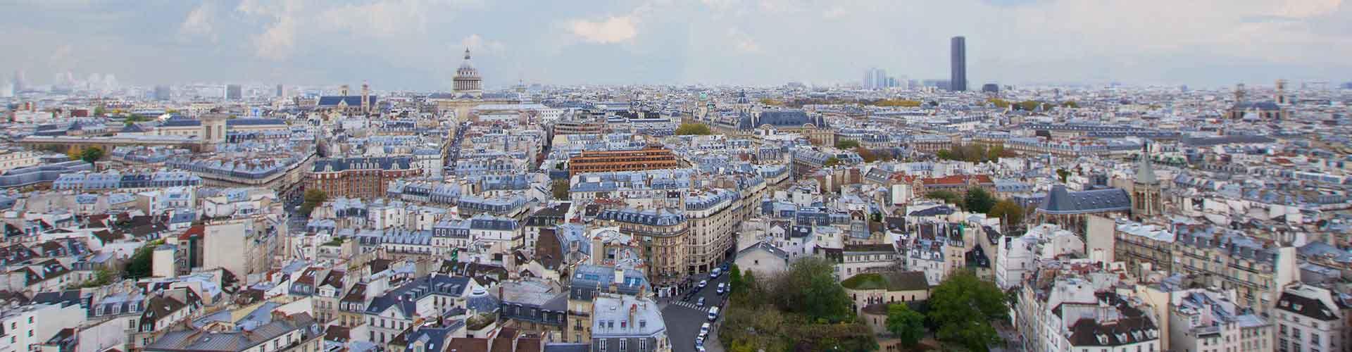 Paris – Hostels no bairro de Quartier Latin . Mapas para Paris, Fotos e Avaliações para cada Hostel em Paris.