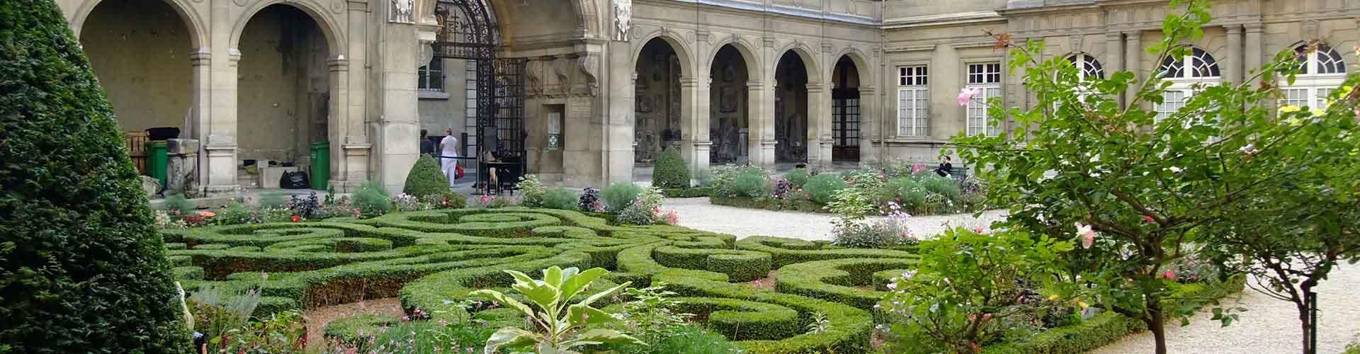 Paris – Hostels próximos a Museu Carnavalet. Mapas para Paris, Fotos e Avaliações para cada Hostel em Paris.