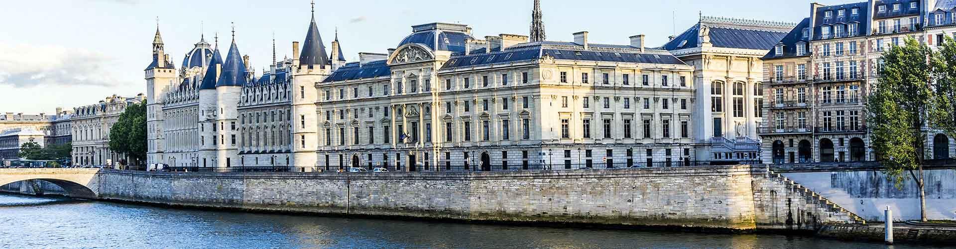 Paris – Hostels próximos a Conciergerie. Mapas para Paris, Fotos e Avaliações para cada Hostel em Paris.