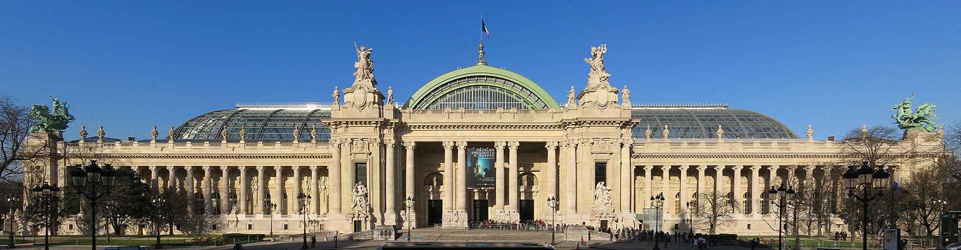 Paris – Hostels próximos a Grand Palais. Mapas para Paris, Fotos e Avaliações para cada Hostel em Paris.