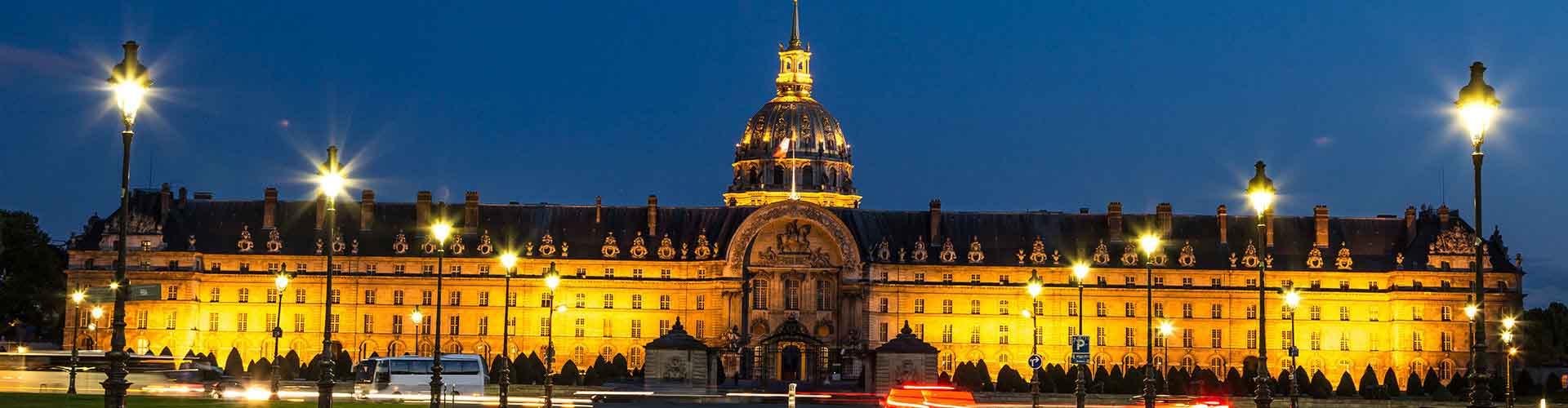 Paris – Hostels próximos a Les Invalides. Mapas para Paris, Fotos e Avaliações para cada Hostel em Paris.