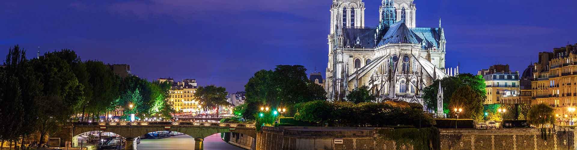 Paris – Hostels próximos a Notre Dame de Paris. Mapas para Paris, Fotos e Avaliações para cada Hostel em Paris.
