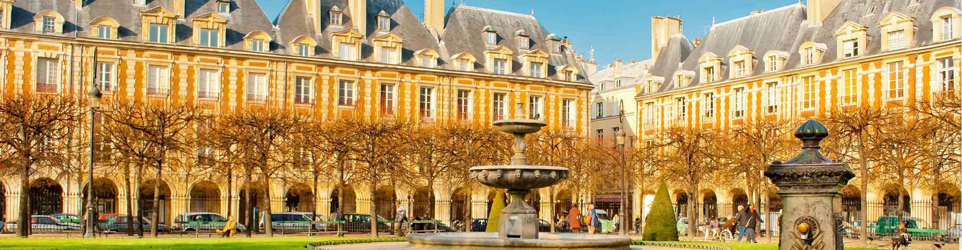 Paris – Hostels próximos a Place VFinalome. Mapas para Paris, Fotos e Avaliações para cada Hostel em Paris.