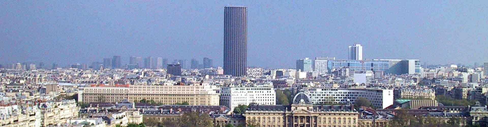 Paris – Hostels próximos a Tour Montparnasse. Mapas para Paris, Fotos e Avaliações para cada Hostel em Paris.