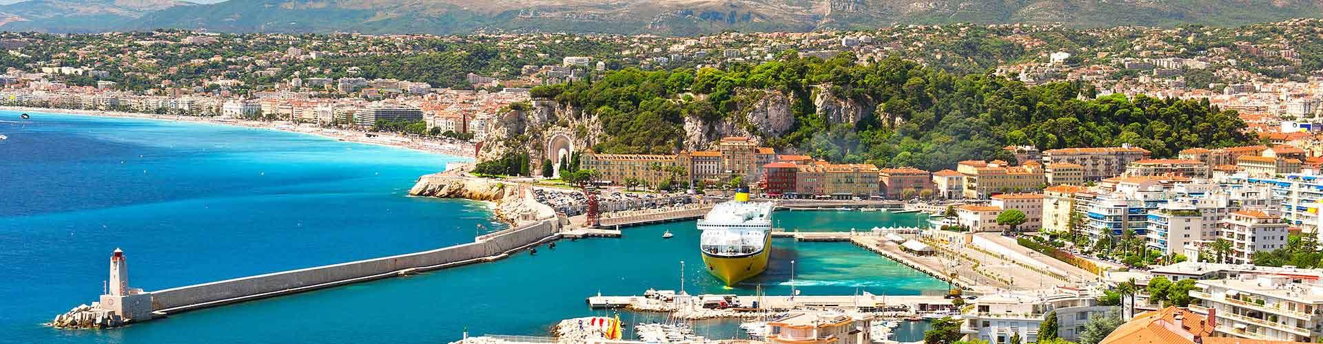 Nice – Hostels em Nice. Mapas para Nice, Fotos e Avaliações para cada Hostels em Nice.