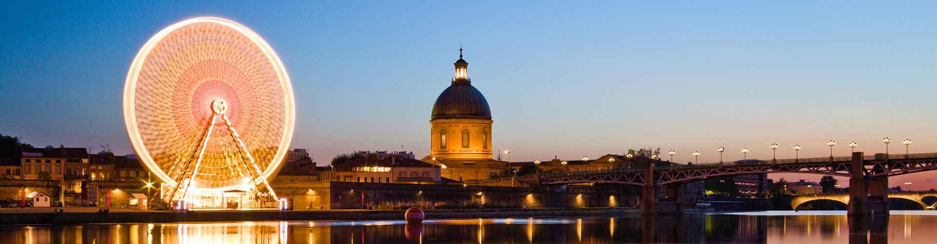 Toulouse – Hostels em Toulouse. Mapas para Toulouse, Fotos e Avaliações para cada Hostels em Toulouse.