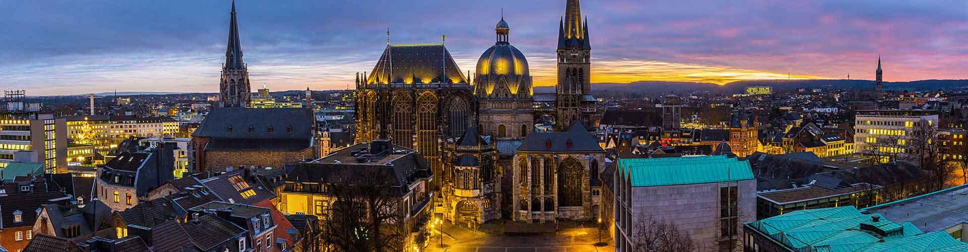 Aachen - Hostels em Aachen. Mapas para Aachen, Fotos e Avaliações para cada Hostel em Aachen.