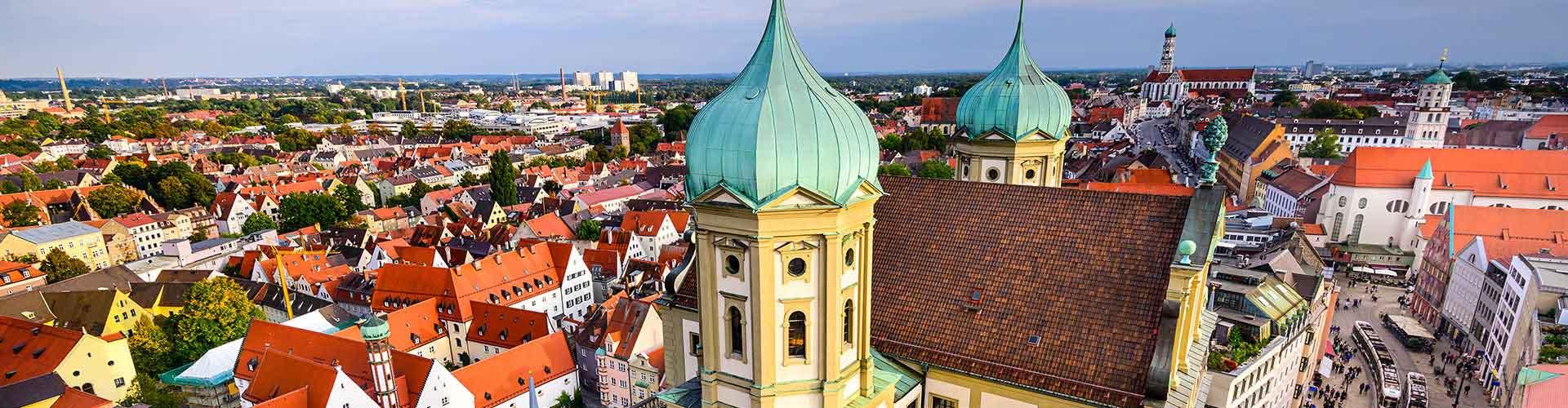 Augsburg – Hotéis em Augsburg. Mapas para Augsburg, Fotos e Avaliações para cada Hotel Augsburg.