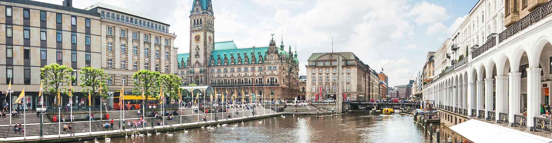 Hamburgo – Quartos em Hamburgo. Mapas para Hamburgo, Fotos e Avaliações para cada quarto em Hamburgo.