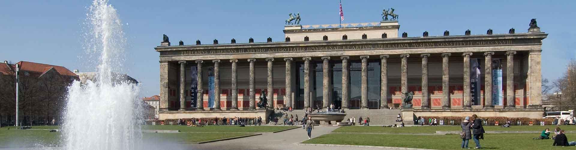 Berlim – Hostels próximos a Altes Museum e Pergamon-Museum. Mapas para Berlim, Fotos e Avaliações para cada Hostel em Berlim.