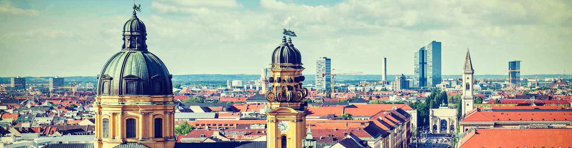 Munique – Hostels em Munique. Mapas para Munique, Fotos e Avaliações para cada Hostels em Munique.