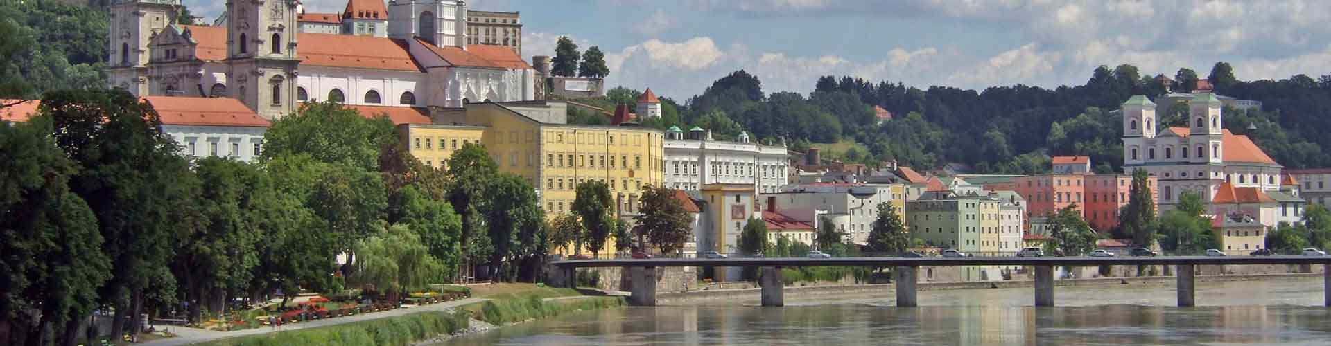 Passau – Hotéis em Passau. Mapas para Passau, Fotos e Avaliações para cada Hotel Passau.