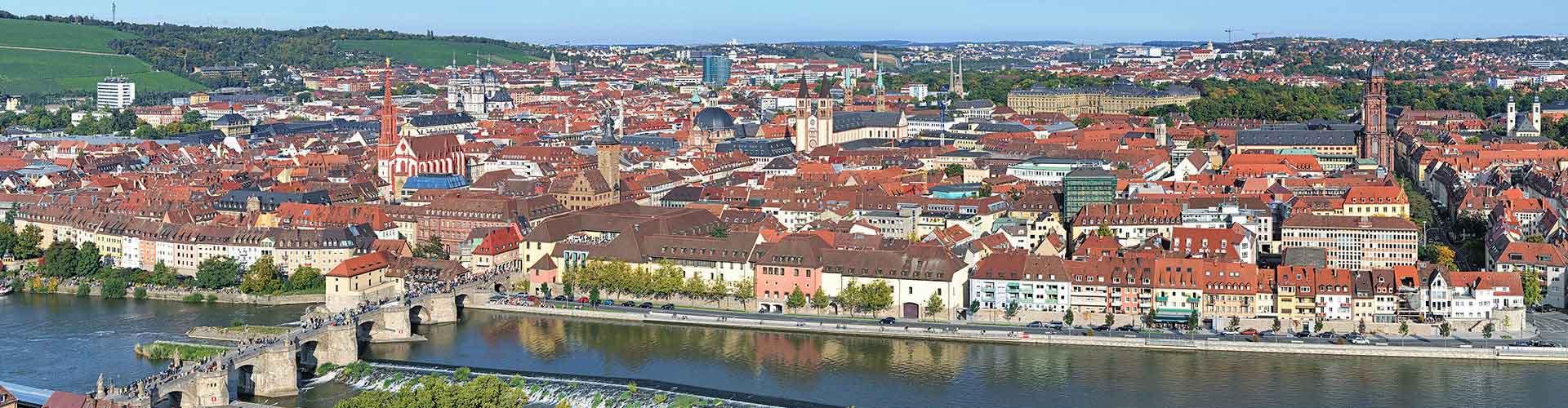 Wuerzburg - Albergues em Wuerzburg. Mapas para Wuerzburg, Fotos e Avaliações para cada Albergue em Wuerzburg.
