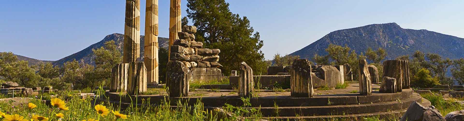Delphi – Quartos em Delphi. Mapas para Delphi, Fotos e Avaliações para cada quarto em Delphi.