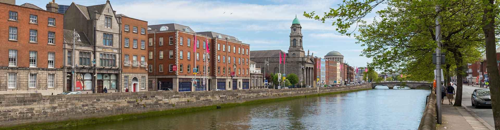 Dublin – Hostels próximos a Centro. Mapas para Dublin, Fotos e Avaliações para cada Hostel em Dublin.