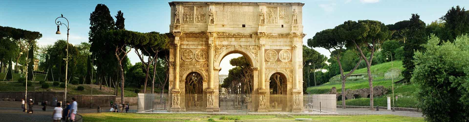 Roma – Hostels próximos a Arco de Constantino. Mapas para Roma, Fotos e Avaliações para cada Hostel em Roma.