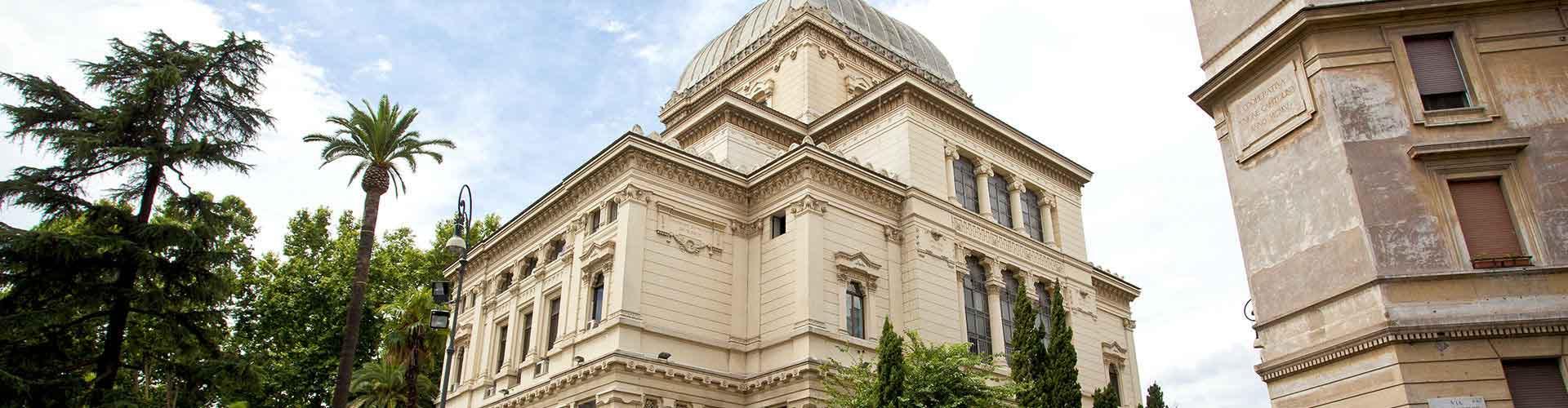 Roma – Hostels próximos a Grande Sinagoga de Roma. Mapas para Roma, Fotos e Avaliações para cada Hostel em Roma.