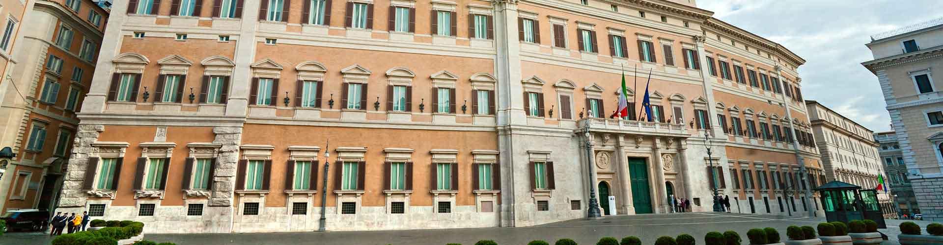 Roma – Hostels próximos a Palazzo Montecitorio. Mapas para Roma, Fotos e Avaliações para cada Hostel em Roma.