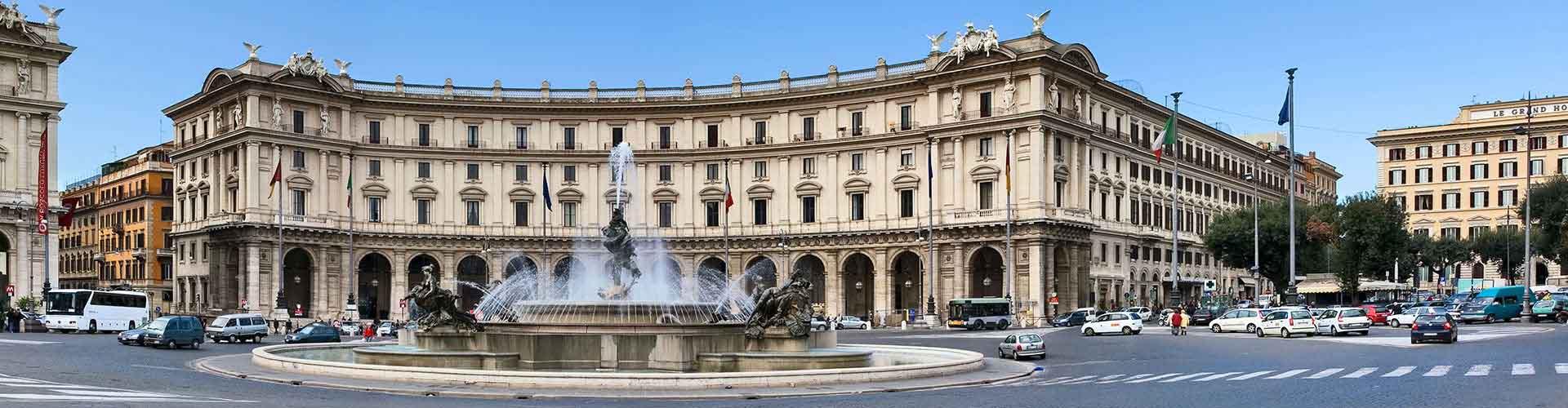 Roma – Hostels próximos a Piazza della Repubblica. Mapas para Roma, Fotos e Avaliações para cada Hostel em Roma.
