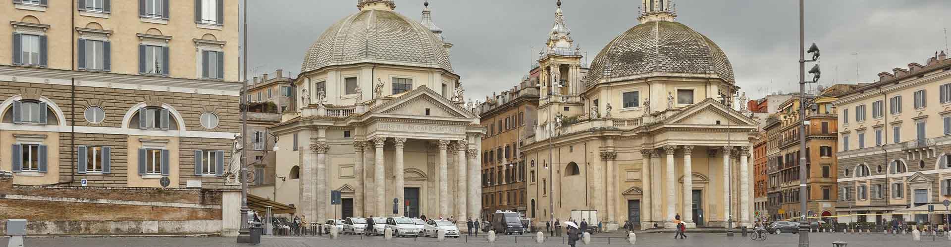 Roma – Hostels próximos a Santa Maria del Popolo. Mapas para Roma, Fotos e Avaliações para cada Hostel em Roma.