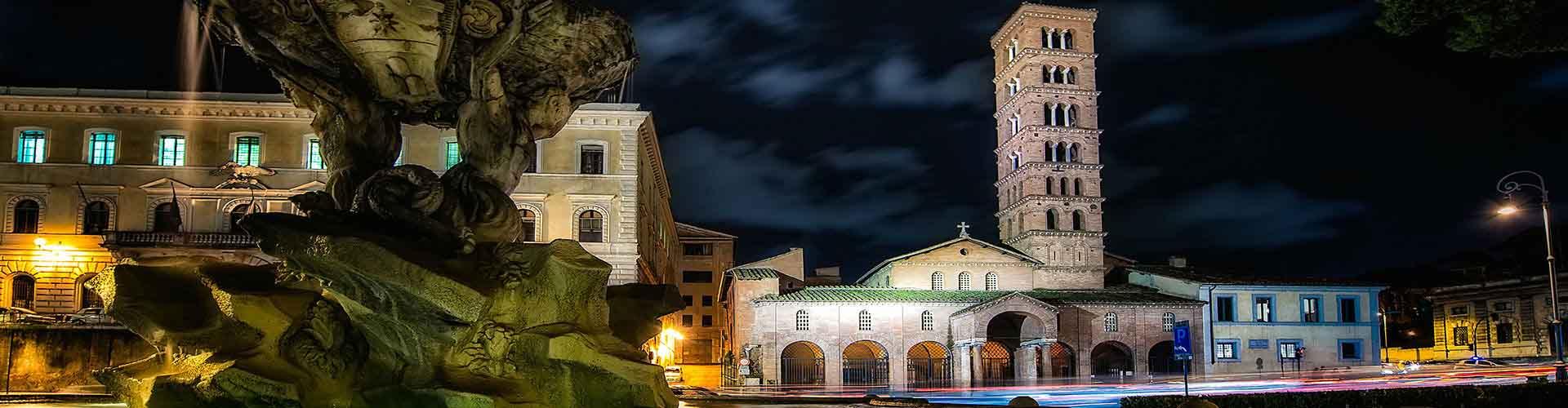 Roma – Hostels próximos a Santa Maria em Cosmedin. Mapas para Roma, Fotos e Avaliações para cada Hostel em Roma.