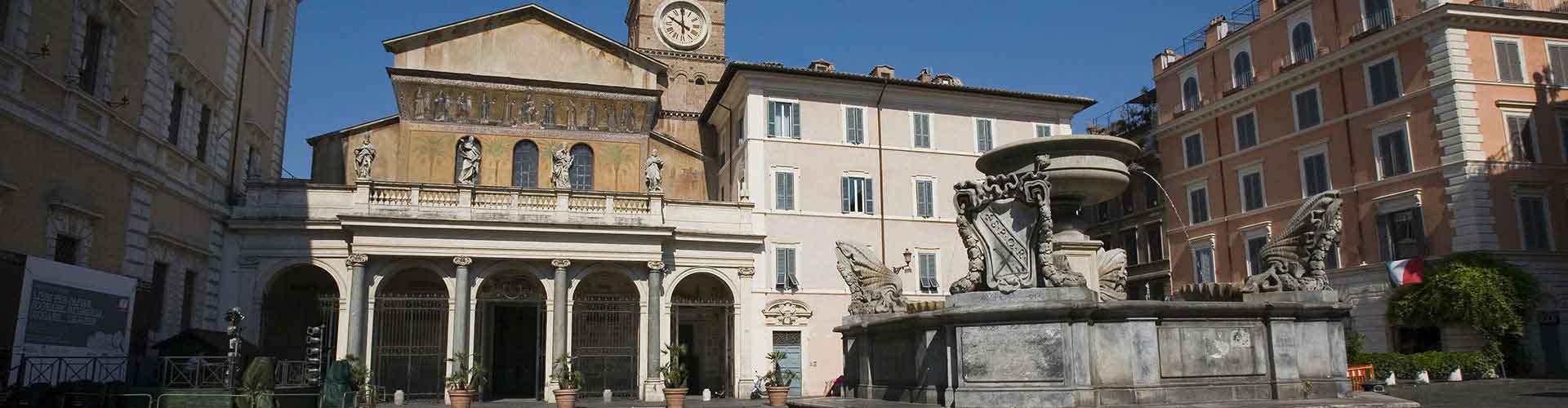 Roma – Hostels próximos a Santa Maria in Trastevere. Mapas para Roma, Fotos e Avaliações para cada Hostel em Roma.