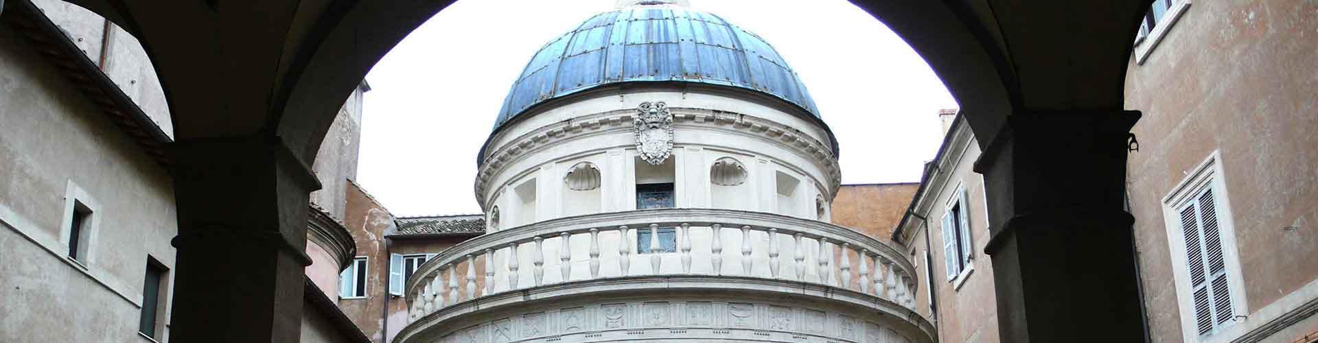 Roma – Hostels próximos a Tempietto. Mapas para Roma, Fotos e Avaliações para cada Hostel em Roma.