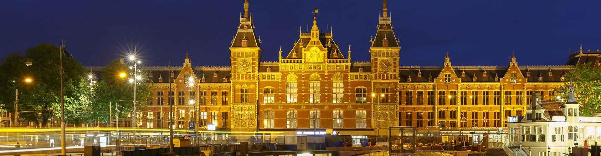 Amsterdam – Camping próximos de Amsterdam Centraal estação ferroviária. Mapas para Amsterdam, Fotos e Avaliações para cada camping em Amsterdam.