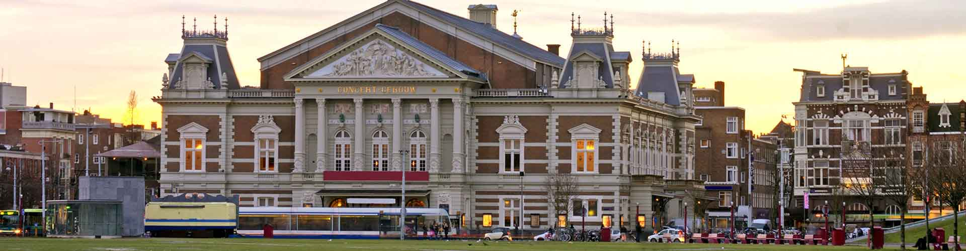 Amsterdam – Hostels próximos a Concertgebouw. Mapas para Amsterdam, Fotos e Avaliações para cada Hostel em Amsterdam.