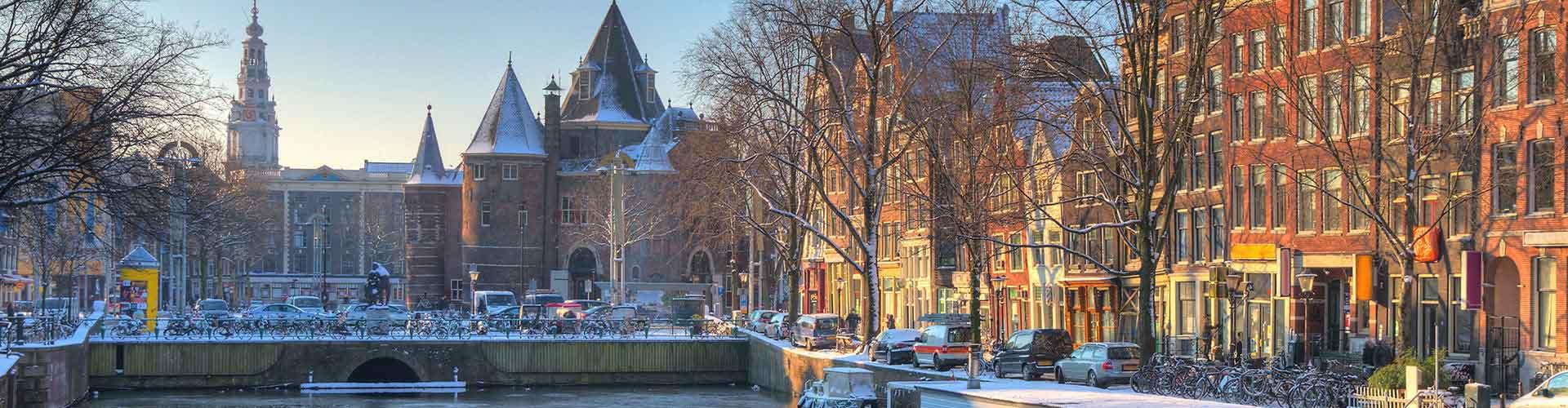 Amsterdam – Hostels próximos a Nieuwmarkt. Mapas para Amsterdam, Fotos e Avaliações para cada Hostel em Amsterdam.
