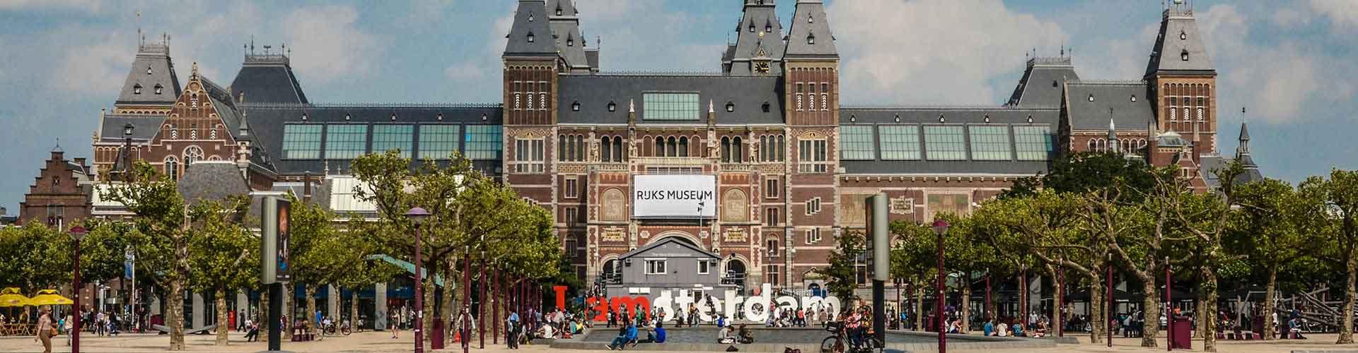 Amsterdam – Hostels próximos a Rijksmuseum. Mapas para Amsterdam, Fotos e Avaliações para cada Hostel em Amsterdam.
