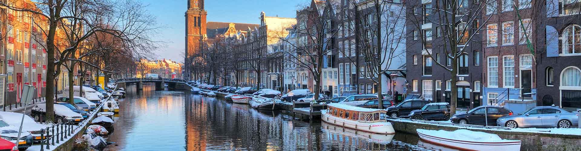 Amsterdam – Hostels próximos a Westerkerk. Mapas para Amsterdam, Fotos e Avaliações para cada Hostel em Amsterdam.