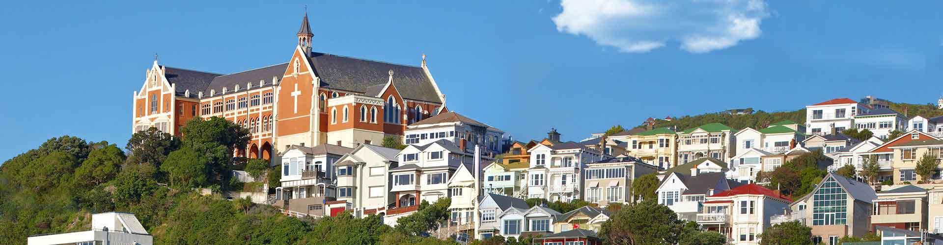 Wellington – Hostels em Wellington. Mapas para Wellington, Fotos e Avaliações para cada Hostels em Wellington.