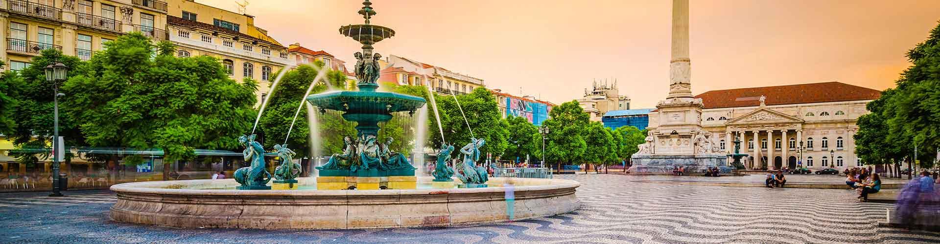 Lisboa – Hostels no bairro de Baixa . Mapas para Lisboa, Fotos e Avaliações para cada Hostel em Lisboa.