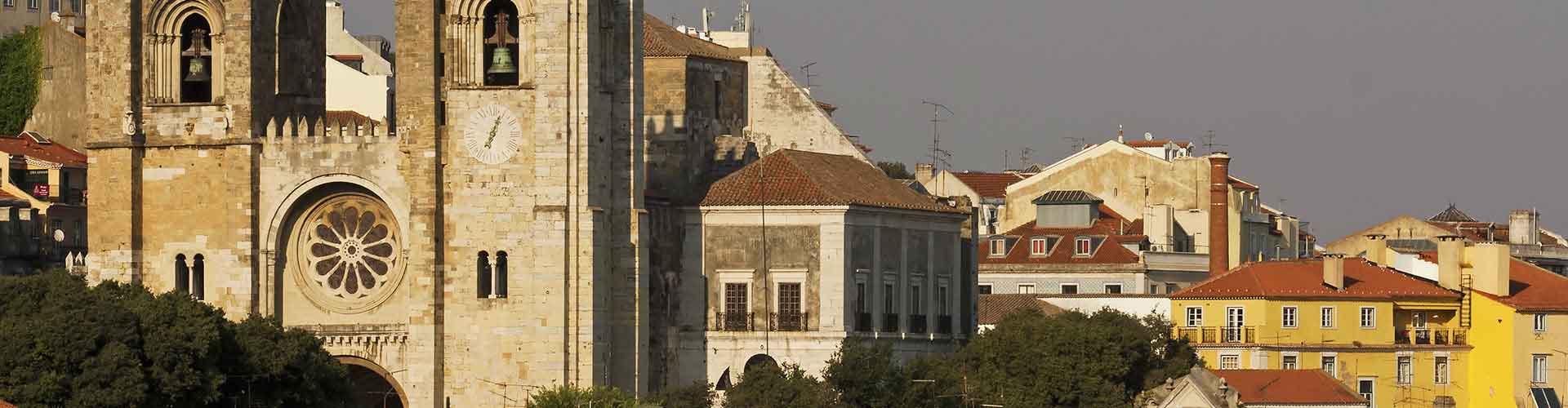 Lisboa – Hostels próximos a Sé de Lisboa. Mapas para Lisboa, Fotos e Avaliações para cada Hostel em Lisboa.